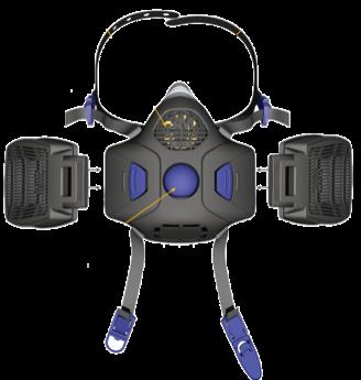 Respiratori Serie HF-800 3M Secure Click