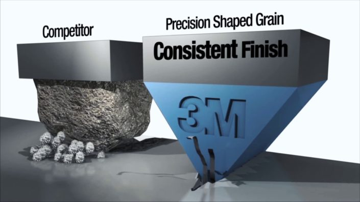 granulo 3M™ Precision-Shaped Grain